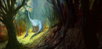 ブラキオサウルス 群れ 子育て