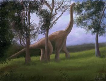 ブラキオサウルス 食性