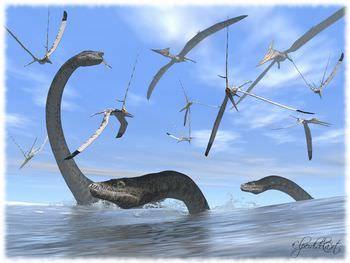 プテラノドンの生態と絶滅の秘密...