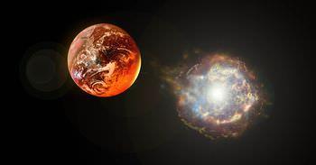 ベテルギウスと地球の距離