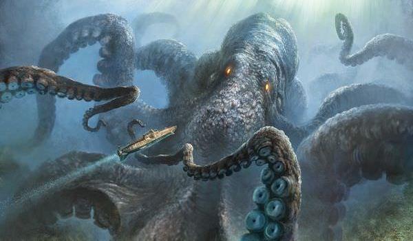 伝説のUMAクラーケン!海の怪物の目撃事例とその正体