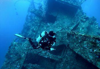 カリブ海の海底都市