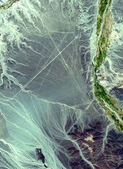 ナスカの地上絵の場所