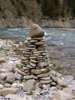 賽の河原 石積み