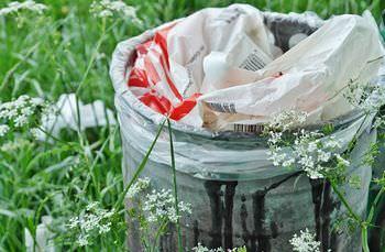 ゴミを捨てない