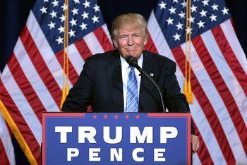 トランプ大統領の当選