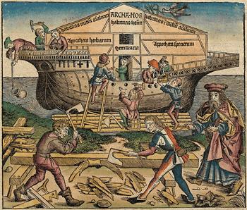 ノアの方舟の建設