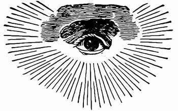 フリーメイソン プロビデンスの目のシンボル