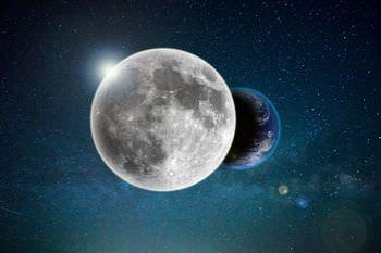 地球と月は同じ星だった