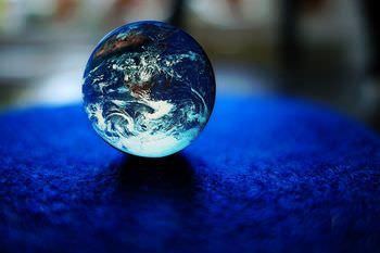 地球が青い理由