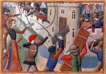 ジャンヌ・ダルクは首に矢が刺さっても戦いに出掛けた