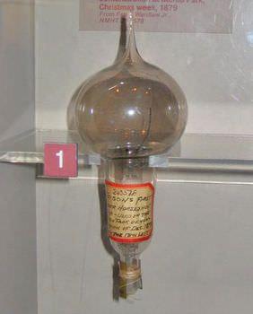 エジソン 電球 発明