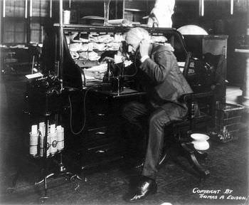 エジソン 電話